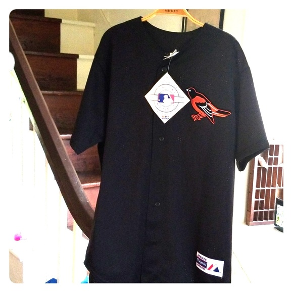 fa4042df Majestic Shirts   Vintage 80s Orioles Batting Practice Jersey   Poshmark